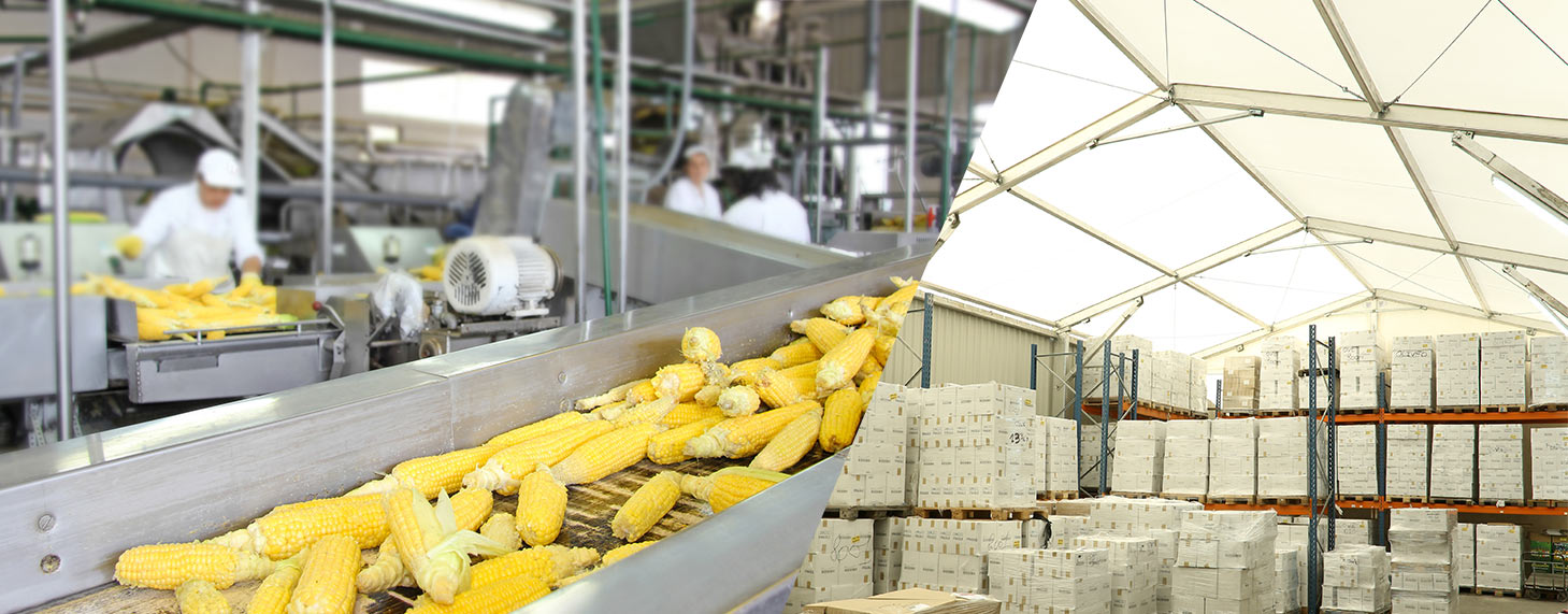 structure modulaire pour industrie agroalimentaire