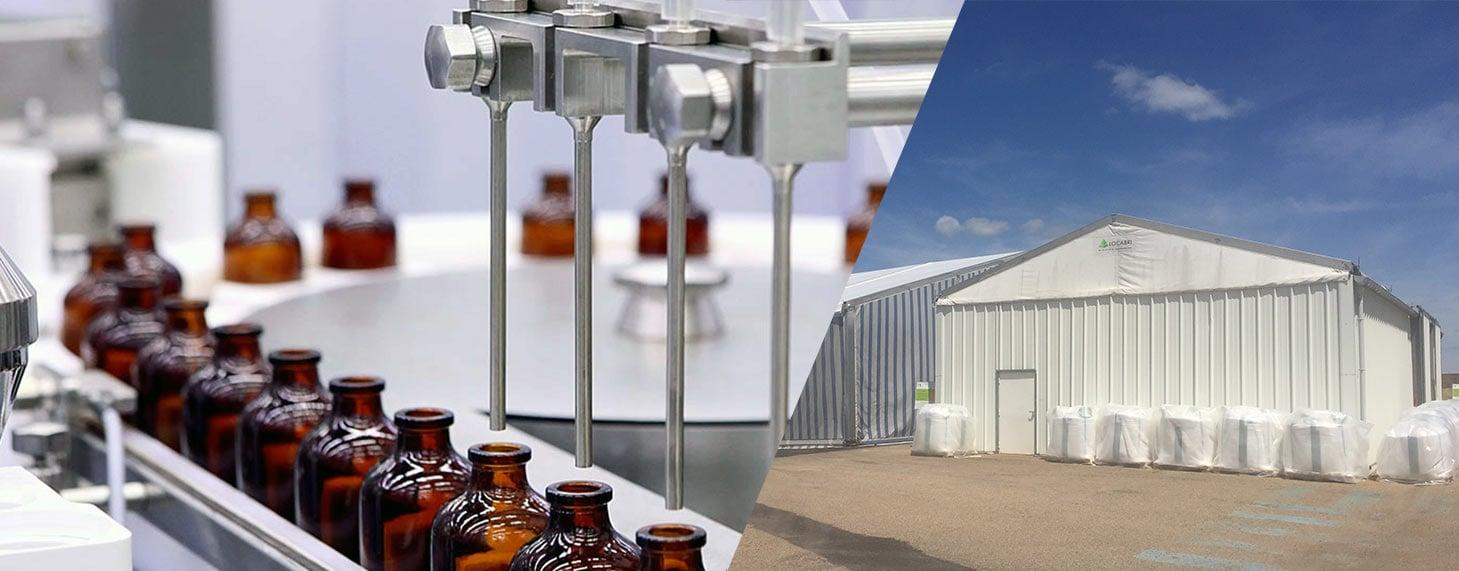 structure modulaire pour industrie chimique