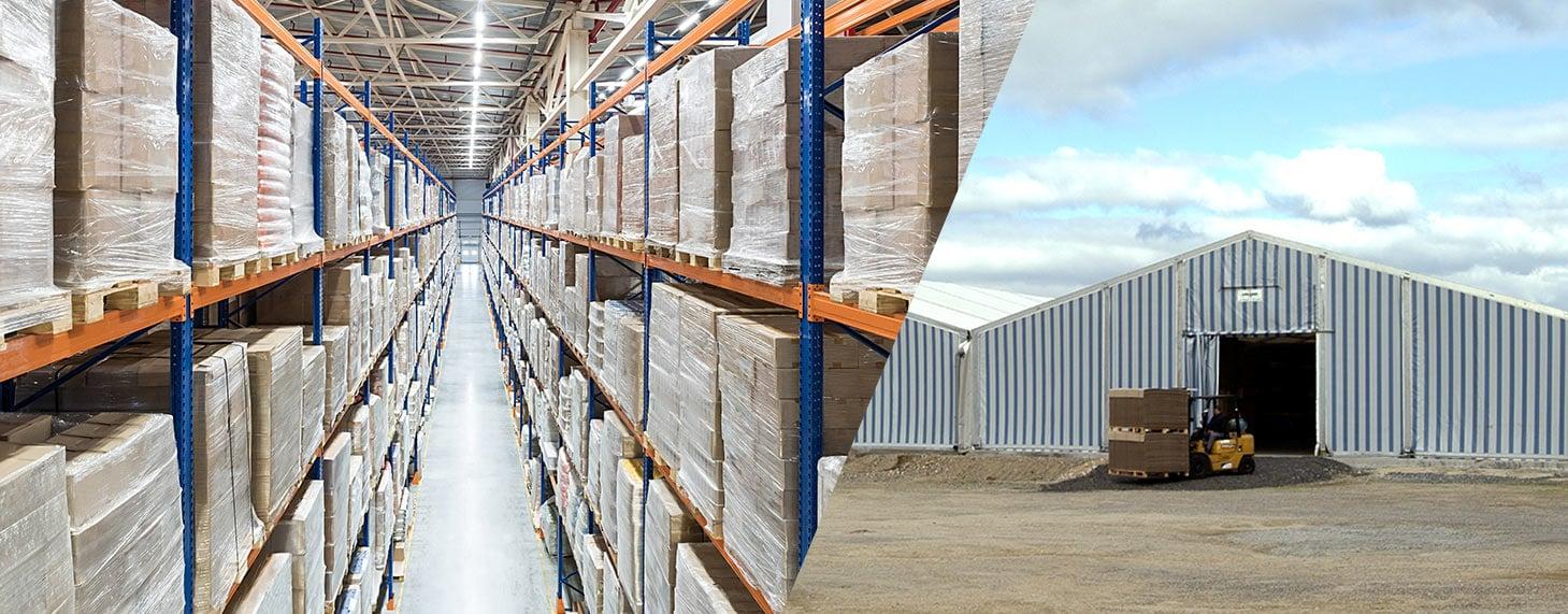 structure modulaire pour le commerce de gros